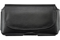 Samsung Gusto 3 Black Leather Case